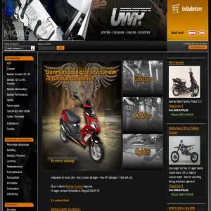 UWP.dk - Crossere, ATV, scootere, MC scootere - fra 6-7 år