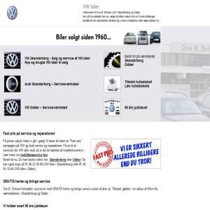 VW Biler - Ove B. Dirksen A/S