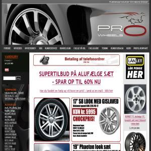 PROWHEELS Alufælge og komplette hjul