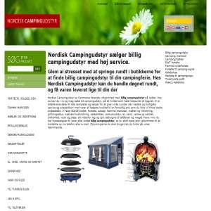 Nordisk Campingudstyr – Vi har et bredt udvalg af billig campingudstyr