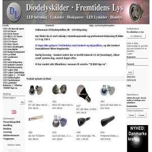 Diodelyskilder.dk - LED Lamper
