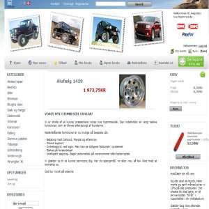 Jeepster - reservedele og udstyr til Jeeps