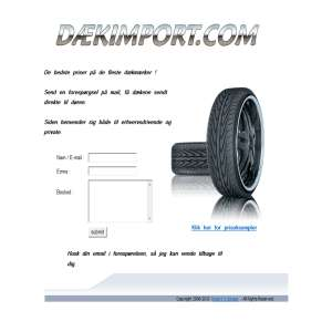 Gode dæk til billige priser