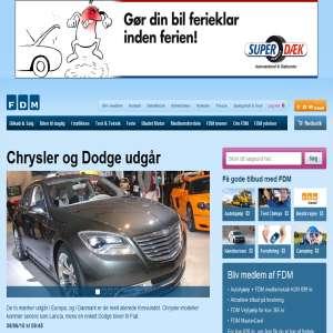 FDM -  Forenede Danske Motorejere