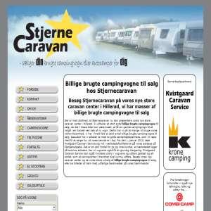 Stjernecaravan har alt indenfor brugt campingudstyr