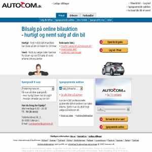 Autocom.dk - online bilauktion