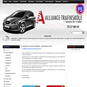 Alliance Trafikskole - K�rkort til Bil