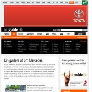 Bil.guide.dk - din guide til alt om Mercedes. Læs blandt andet de seneste nyheder om Mercedes