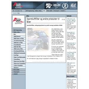 KN filtre til alle bilmærker