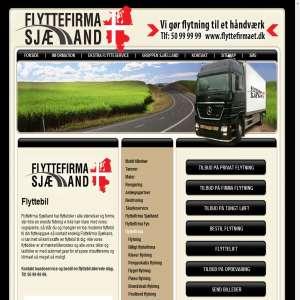 Flyttebil via Flyttefirmaet Sjælland