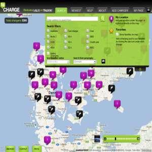 Find ladestationer til din elbil med Tipcharge.com