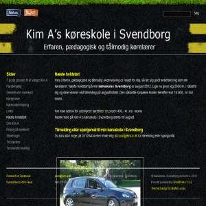 Kim A k�reskole i Svendborg