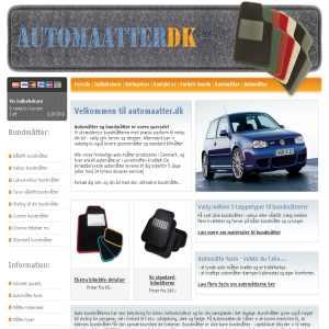 Automaatter.dk - bundmåtter til bilen