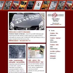 Bildekoration - Styling eller Reklame