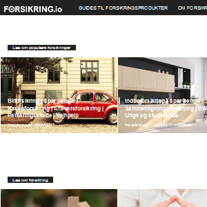 Forsikring.io