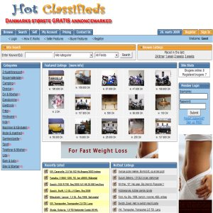 Hot-class.com - Gratis annoncemarked