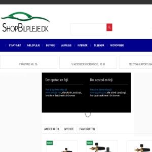 Bedste Bilpleje - Shopbilpleje.dk