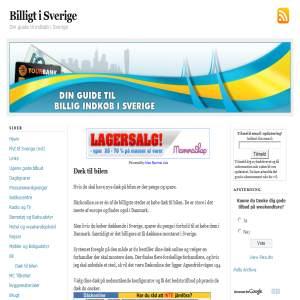 Spar penge på dæk i Sverige