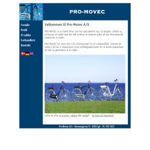 PRO-MOVEC - Elcykel