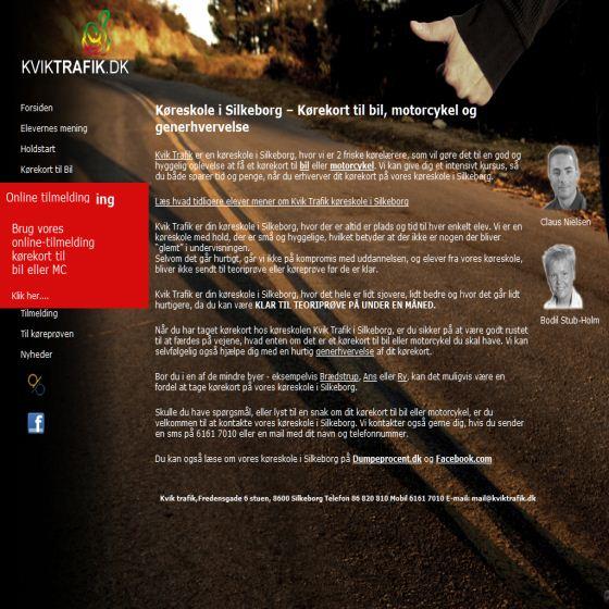 Kvik Trafik - Køreskole
