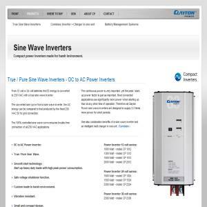 Power Inverter - 230v pure sine wave