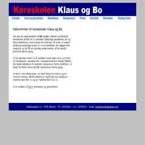 Køreskolen Klaus og Bo - Allerød og Birkerød
