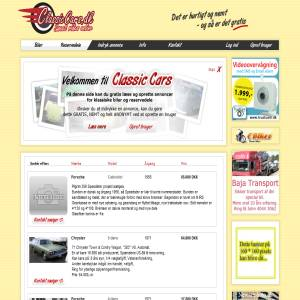 ClassicCars.dk - GRATIS salg af Klassiske- og Veteranbiler