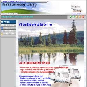 Campingvogn til leje – Hannas Campingvogn Udlejning