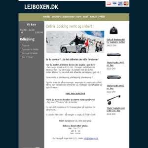 Lejboxen.dk - udlejning af tagbokse