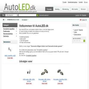 AutoLED.dk - Danmarks billigste dioder med Danmakrs bedste garanti