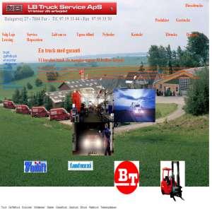 LB Truck Service ApS - Vi letter dit arbejde