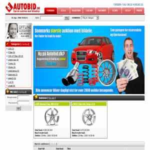 Autobid.dk - Stor auktion med bildele