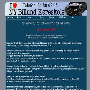 NyBillund Køreskole