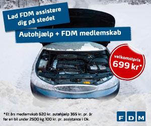 FDM - Billig autohjælp døgnet rundt