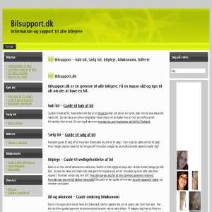 Bilpleje - Bilsupport
