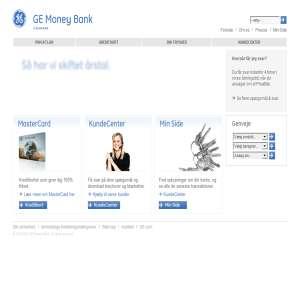 Lån uden sikkerhed fra GE Money Bank