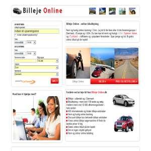 Online biludlejning