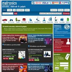Matronics.dk - Autoudstyr, elektronik & Gadgets
