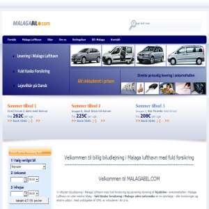 Biludlejning i Malaga - MALAGABIL