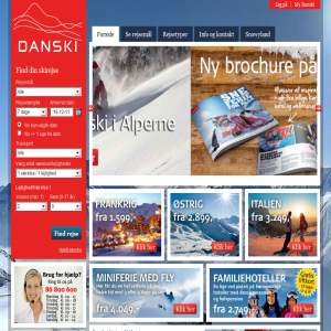 Danski skirejser - Billig kør selv skiferie til spændende destinationer
