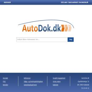 AutoDok.dk - din online servicebog