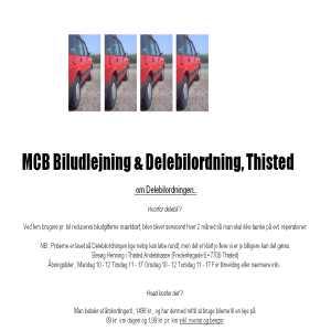 Billig Biludlejning i Nordjylland