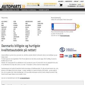 SpeedyAutoparts.dk