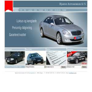 Hjarnø Automobiler - Eksklusive biler